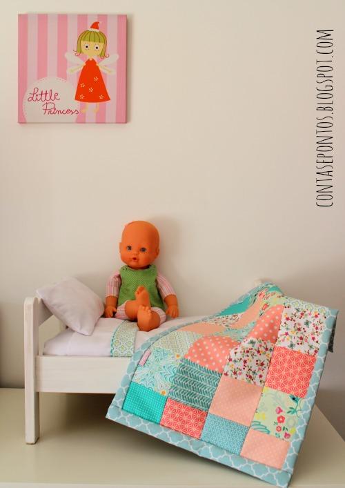 Patchwork - colcha de bonecas