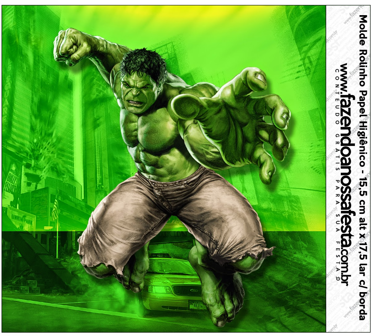 Hulk Free Printable Candy Bar Labels. | Oh My Fiesta! in
