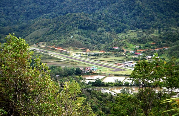 Landing Strip Runway Bakelalan Airport