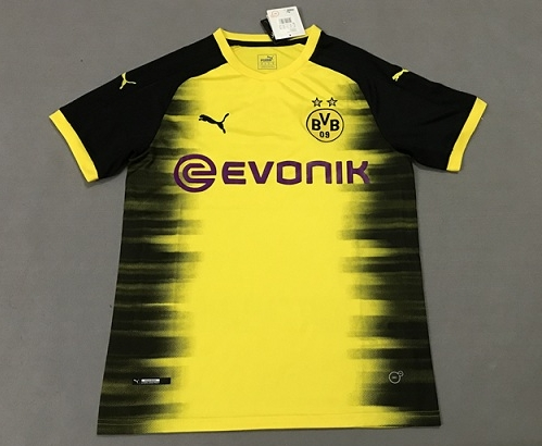 Jersey UCL Dortmund 17-18 Yellow Puma