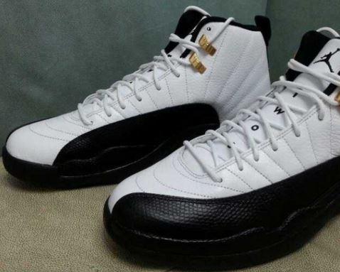 buy popular f874a 94735 THE SNEAKER ADDICT: 2013 Air Jordan XII Taxi 12 Sneaker (New ...