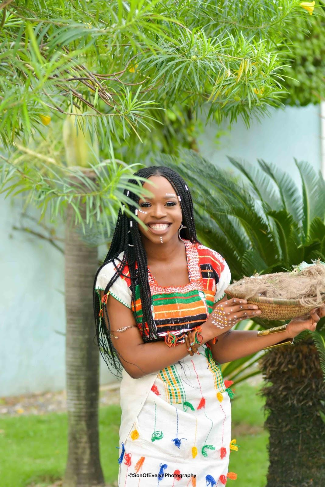 Nigerian Fulani woman