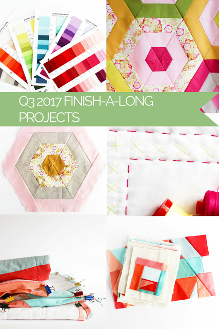 Works in Progress | Shannon Fraser Designs | Modern Quilting | Q3 2017 Finish-A-Long