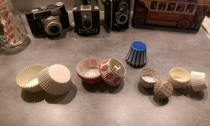 caisettes à cupcakes
