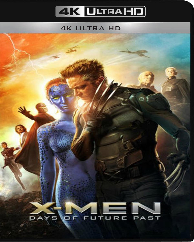 X-Men: Days of Future Past [2014] [UHD] [2160p] [Latino]