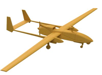 1/44 Heron UAV picture 1