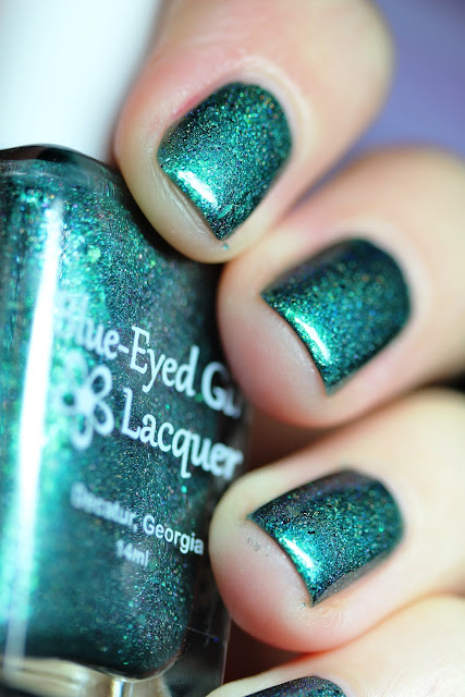 Blue-Eyed Girl Lacquer BEGL Green's Alexandrite with Me