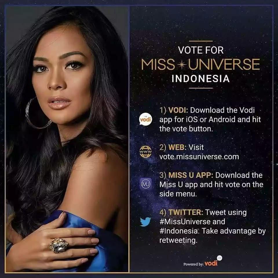 Kezia Warouw Indonesia 2016 di Miss Universe 2017