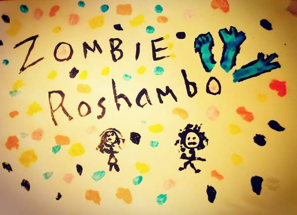 Zombie roshambo location based online game android iOS