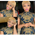 Chic blonde bob hairstyle with layered cut  for black women (photos)