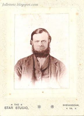 Mitchell Davis 1820-1892 Beldor Rockingham Co VA https://jollettetc.blogspot.com