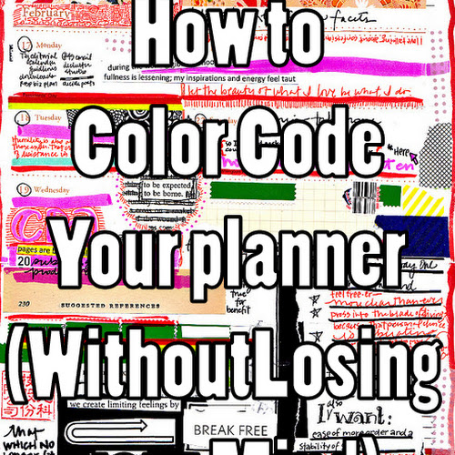 How to color code your planner (without losing your mind) - Oh Hey