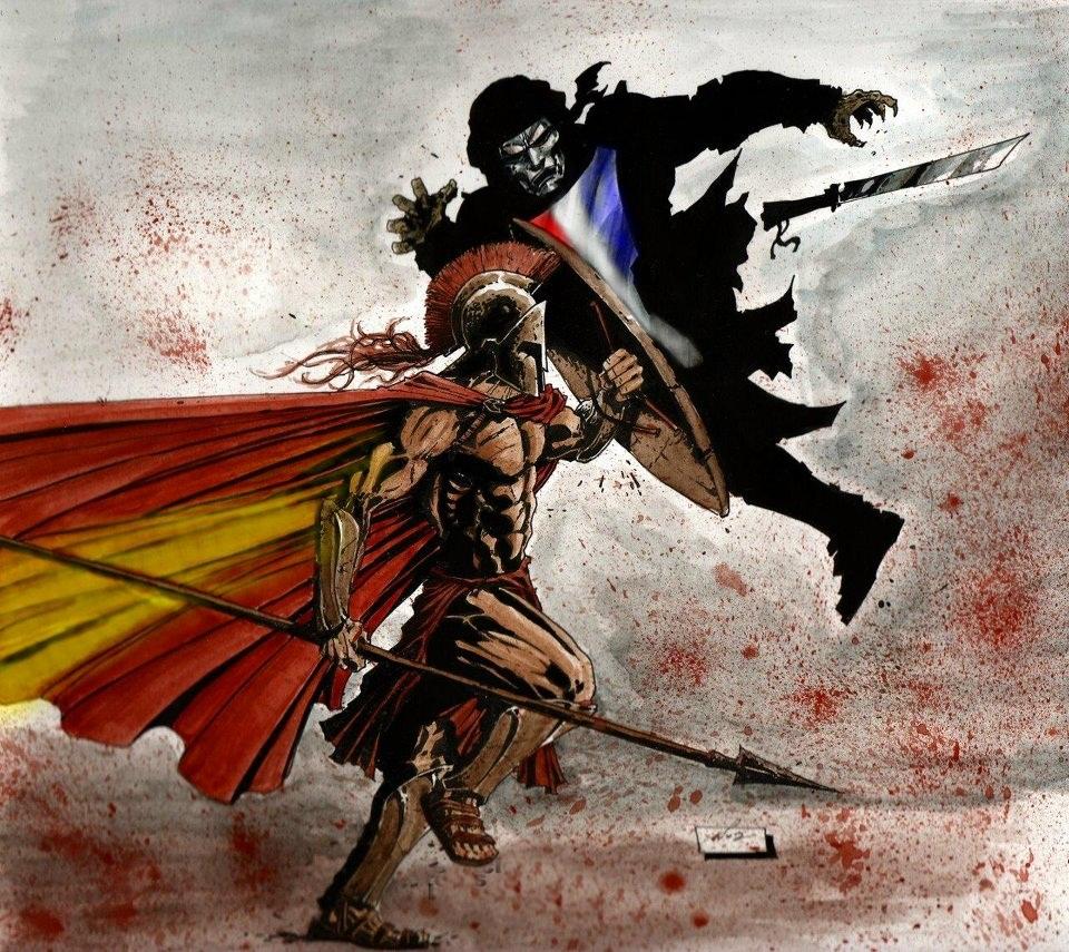 Warriors Book Series Movie: El Pozo De Esparta: Somos Espartanos.,Au! Au! Au