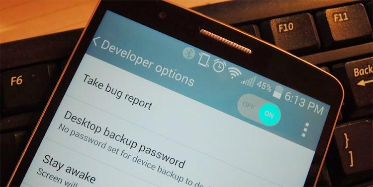 Cara Menyembunyikan Menu Developer Options di Settings Android