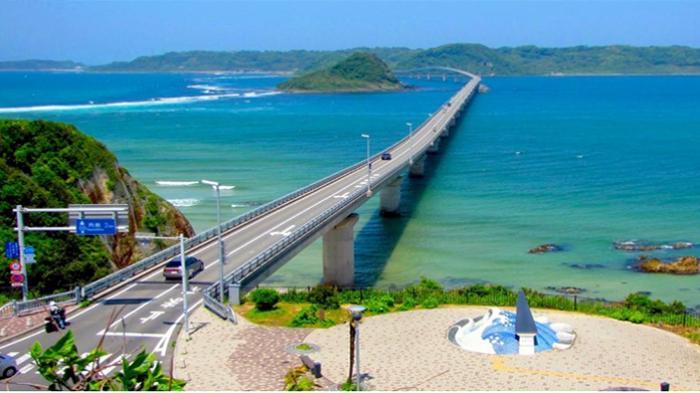 Tsunoshima Ohashi, Jembatan Terindah dan Fenomenal di Jepang