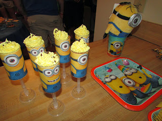 For The Love Of Food Despicable Me Minion Birthday Party