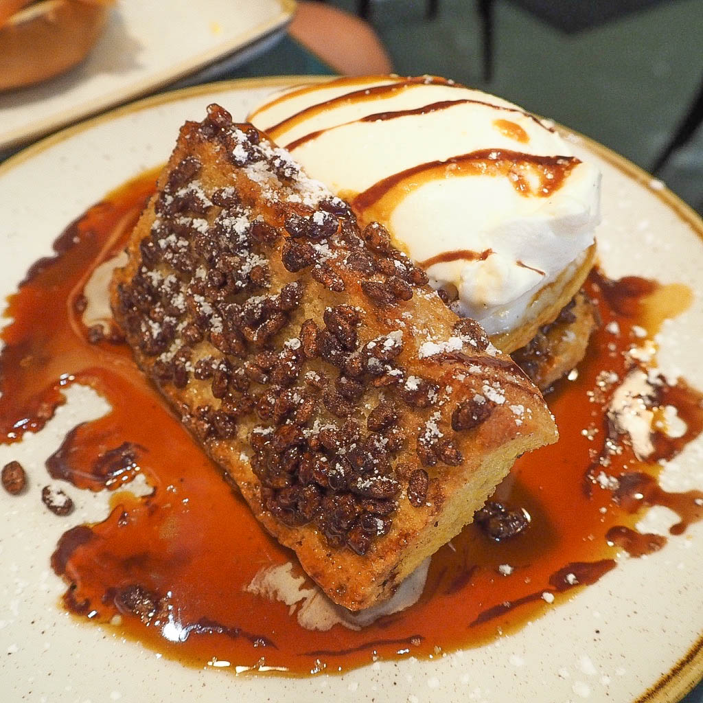 Coco pops french toast at San Lorenzo's brunch of champions, Dublin