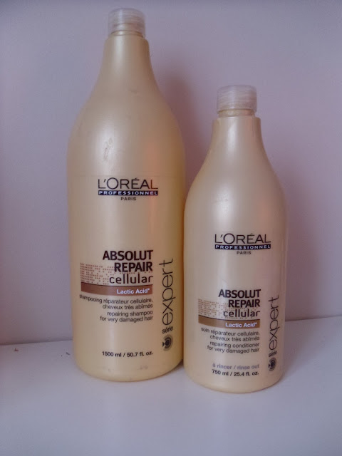 Loreal Professional Absolut - shampoo and conditioner - review - haircare