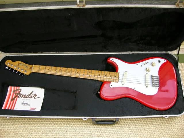The Unique Guitar Blog Fender Bullet Guitars