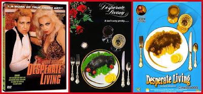Жалкое Существование / Жизнь в отчаянии / Desperate Living. 1977. DVD.