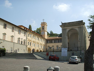 The Sanctuary of Montenero in the Livorno Hills