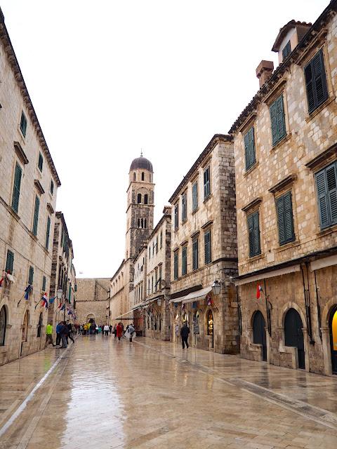 Stradun / Placa, Dubrovnik, Croatia