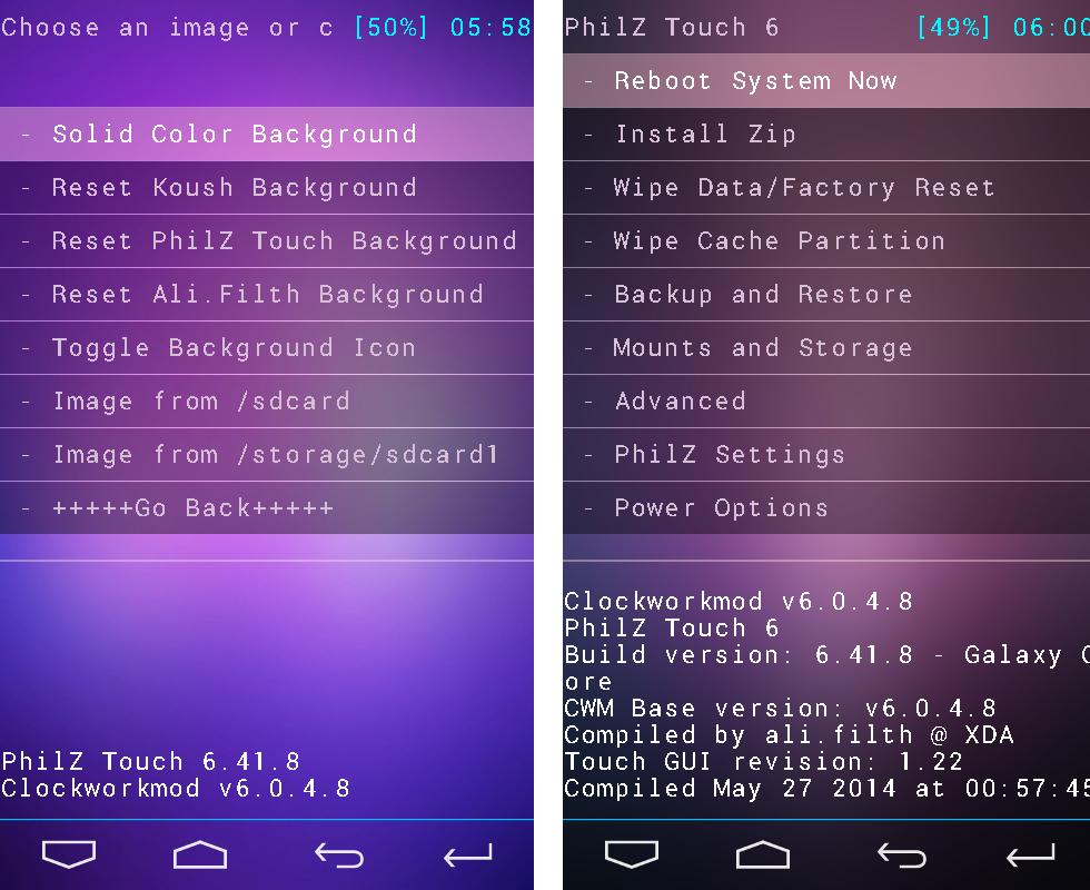 La Web Del Yuyo: Como hacer Root e instalar Recovery PhilZ 6 59 0 en