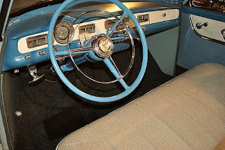 1952 Dodge Royal Convertible Interior Cabin