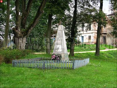 Любча. Памятник Второй мировой войне