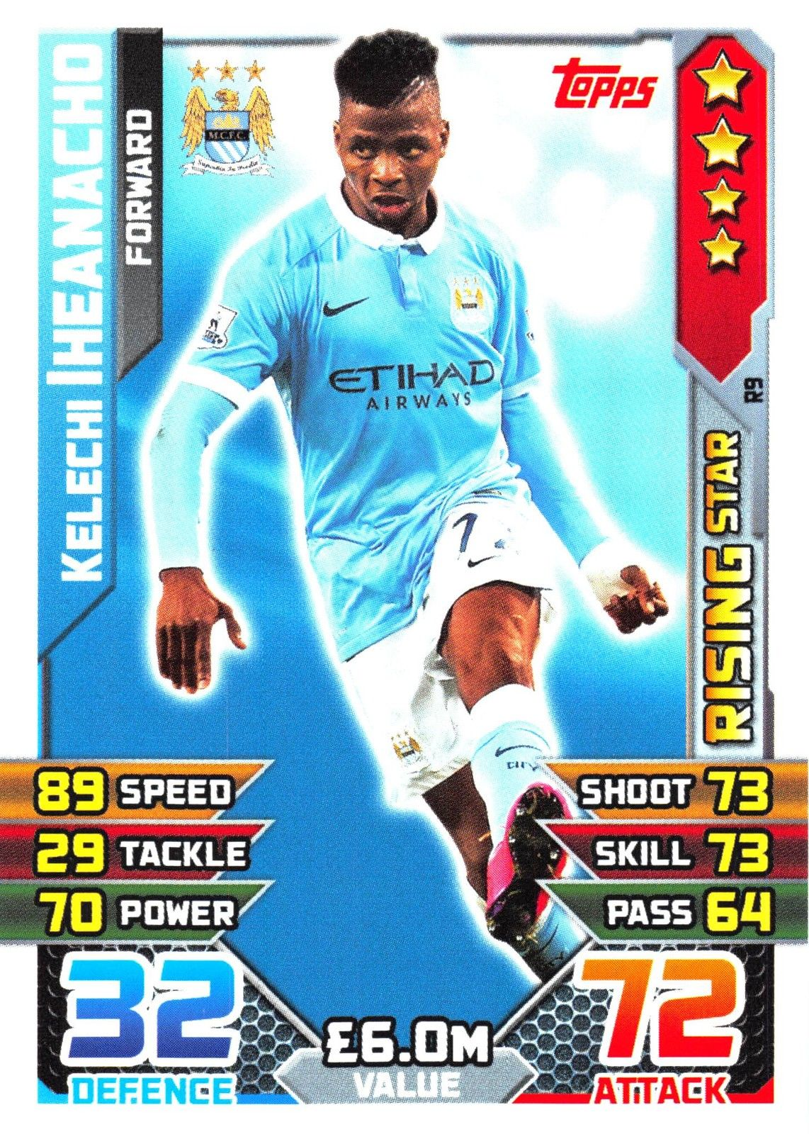 Topps Match Attax Action 18//19-398-Ibrahima placage