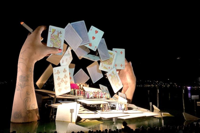 Festspielbühne Carmen Bregenz