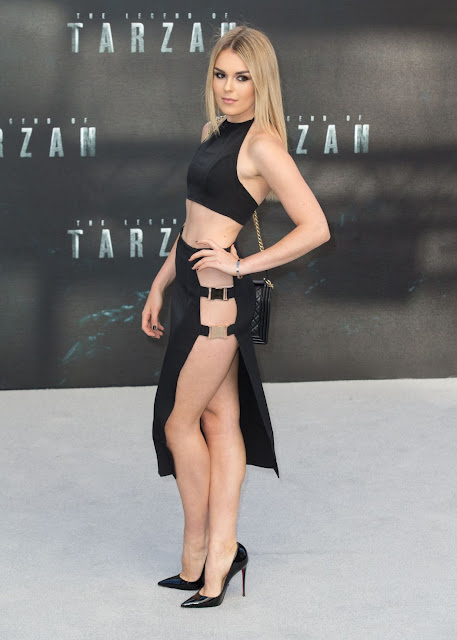 Singer, @ Tallia Storm - 'The Legend Of Tarzan' Premiere in London