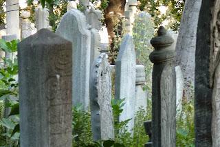 Cementerio de la Mezquita de Eyüp, Estambul.
