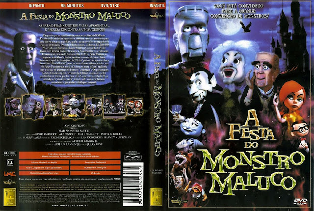 Capa DVD A Festa do Monstro Maluco