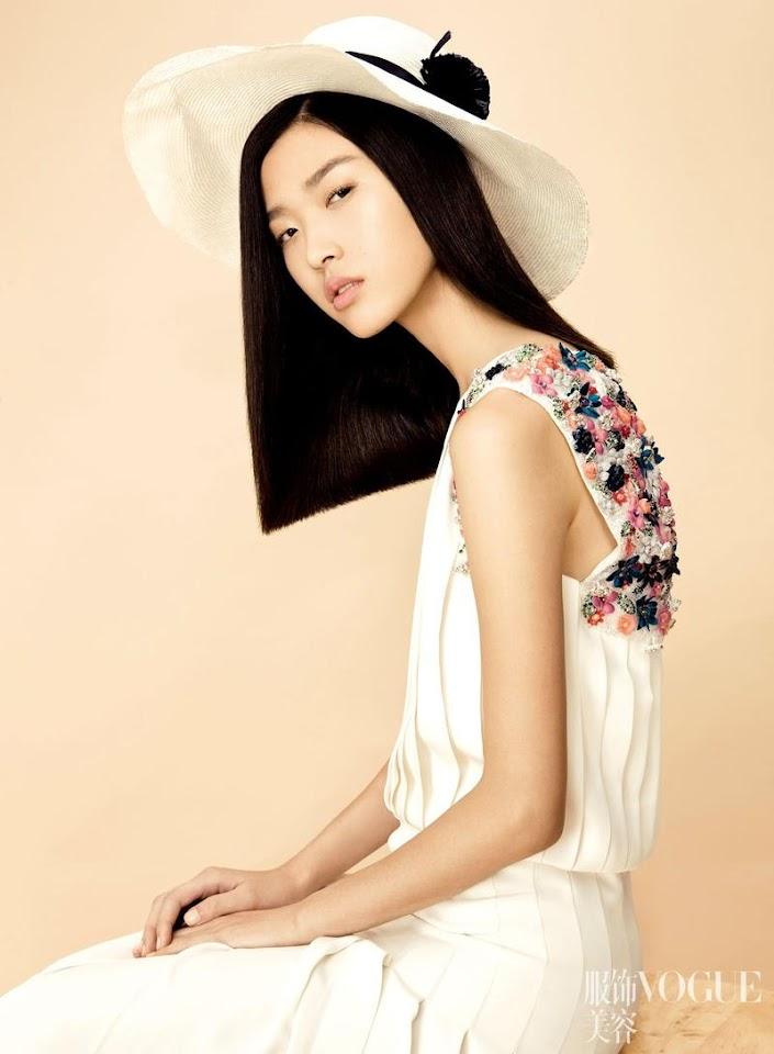 ASIAN MODELS BLOG: EDITORIAL: Tian Yi In Vogue China