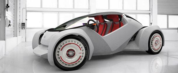 Local Motors Strati Printed Electric Car