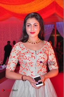 Actress Madhu Shalini Exclusive Stills in Party Dress at Vijay Karan Aashna Wedding  0005.JPG