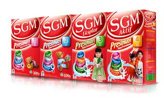Daftar Harga Susu SGM Terbaru 2018