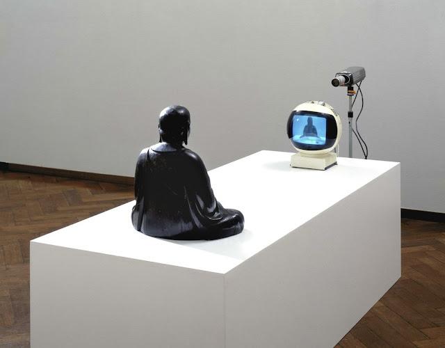 Nam June Paik - TV Buddha