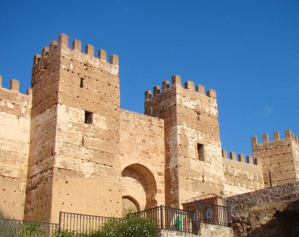 Los viajes de bevi la bellota viajera castillo de burgalimar ba os de la encina ja n - Castillo de banos de la encina ...