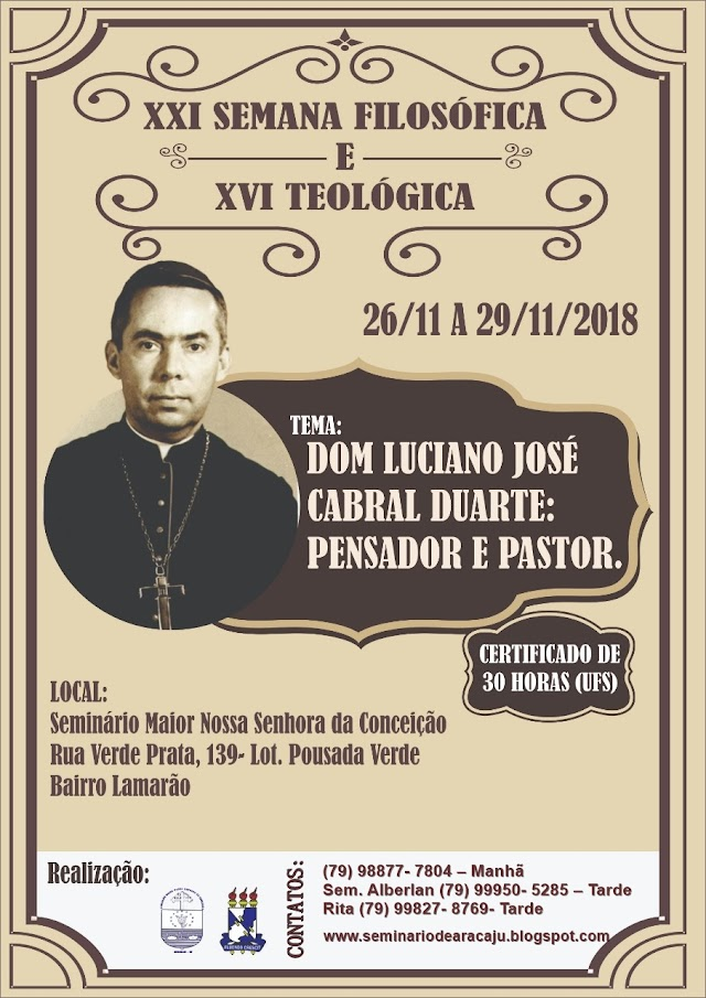 SEMANA FILOSÓFICA E TEOLÓGICA 2018