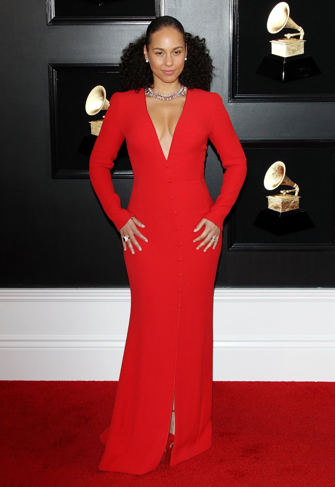 Alicia Keys – 61st Annual GRAMMY Awards in Los Angeles - 02/10/2019