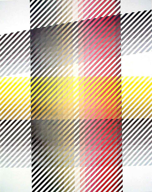 Anton Stankowski stripes