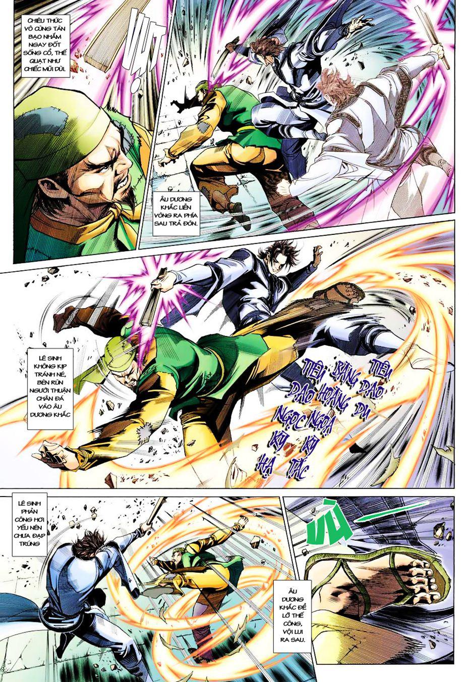 Anh Hùng Xạ Điêu anh hùng xạ đêu chap 35 trang 4