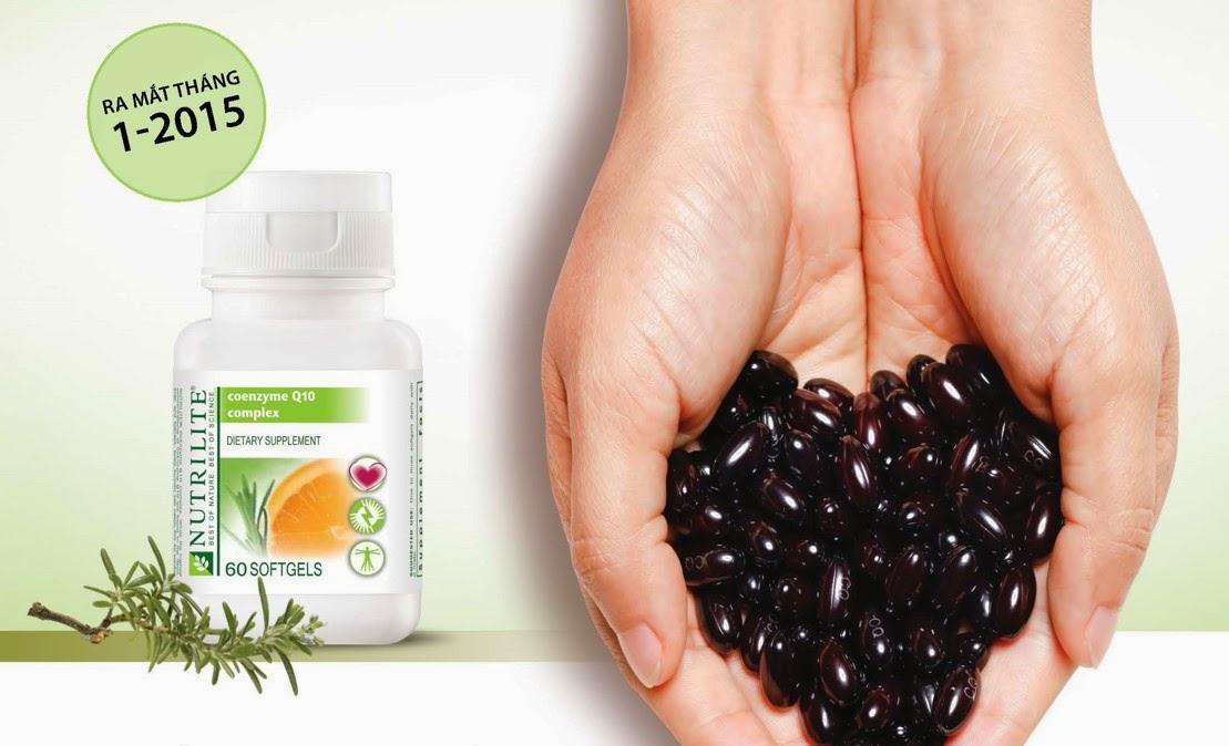 Thực phẩm chức năng viên nang mềm Nutrilite Coenzyme Q10 Complex (60 viên/lọ)