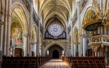 Wallpaper: Church of the Sacred Heart of Jesus