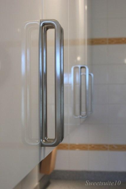 Ikea spann handles installed on Abstrakt cabinets