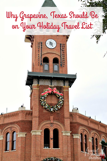 If you haven't considered Grapevine, Texas as a family holiday destination before, then you definitely need to check out these reasons why the Christmas Capitol of Texas should be at the top of your holiday travel list.
