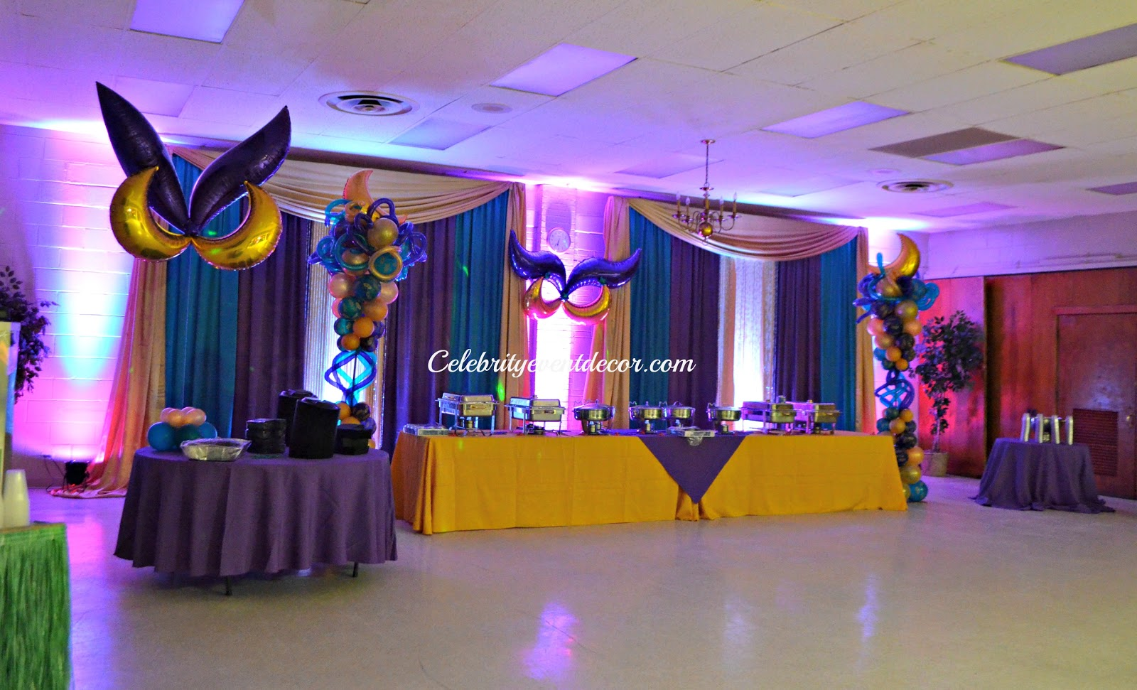 Balloon Dance Floor Canopy