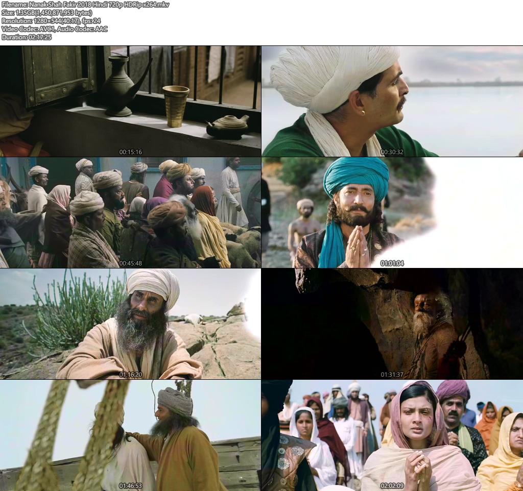 Nanak Shah Fakir 2018 Hindi 720p HDRip x264 | 480p 300MB | 100MB HEVC Screenshot